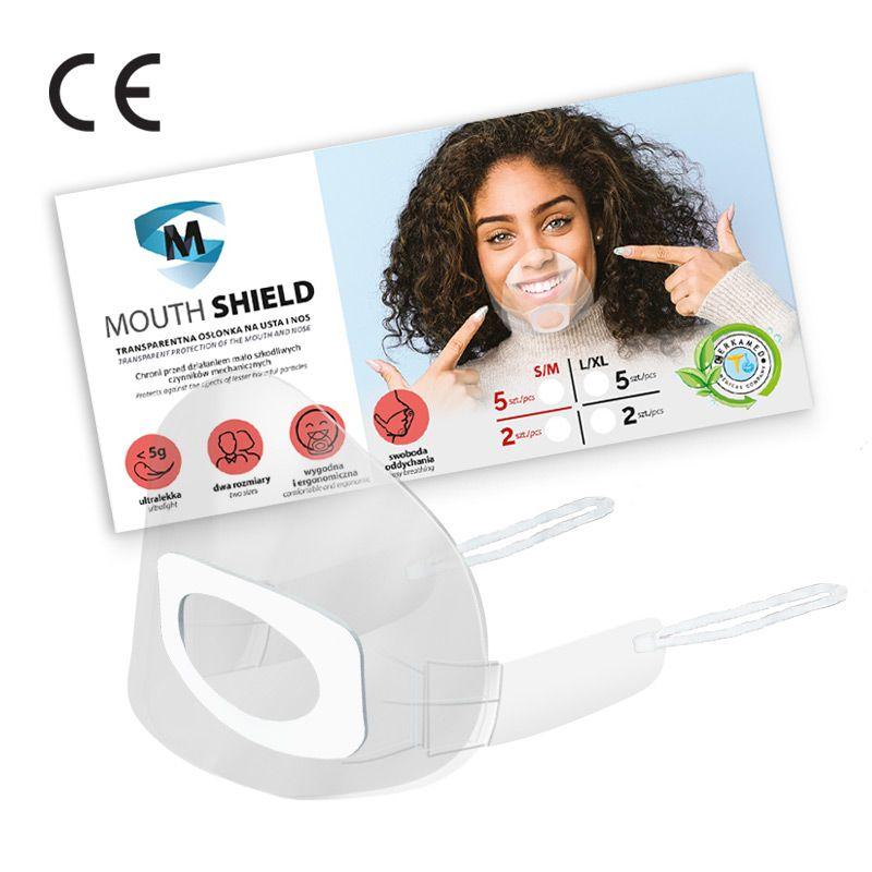 Masque transparent La boîte de 2 masques 28603
