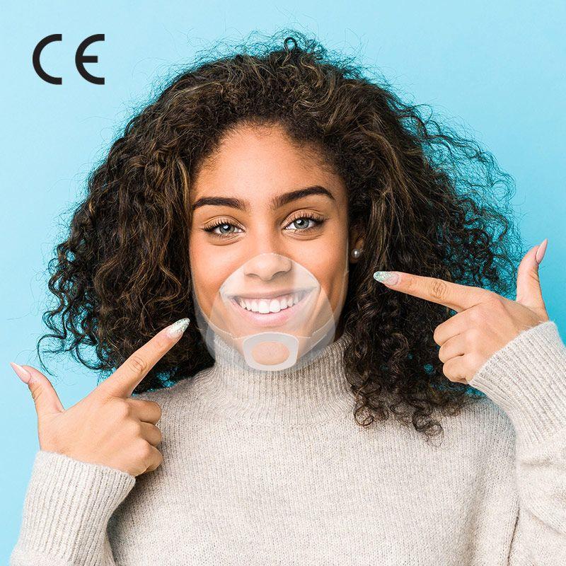 Masque transparent La boîte de 5 masques 28604